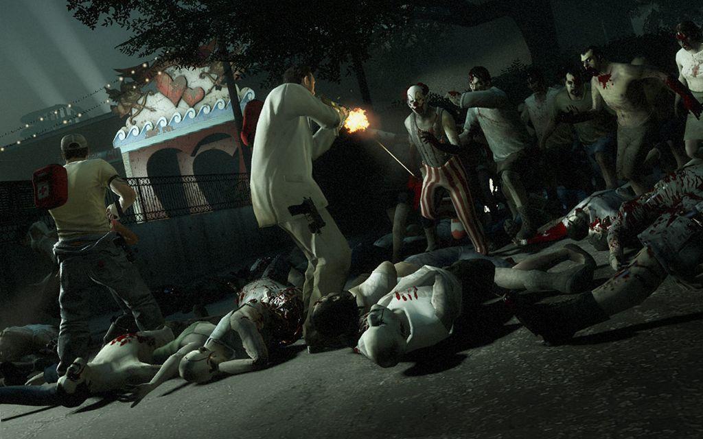 zombie apocalypse left 4 dead